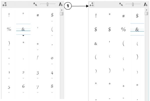 CorelDRAW Hilfe | Sonderzeichen, Symbole und Glyphen einfügen