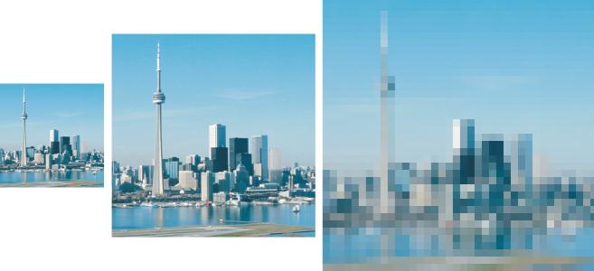 Пиксели, разрешение и печать цифровых изображений | 300x657