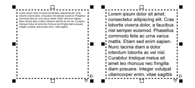 CorelDRAW Ayuda | Adición de texto de párrafo
