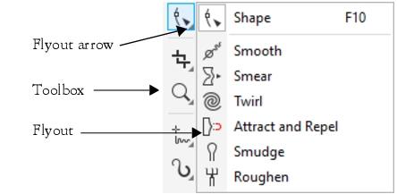 Corel Draw Freehand Crop