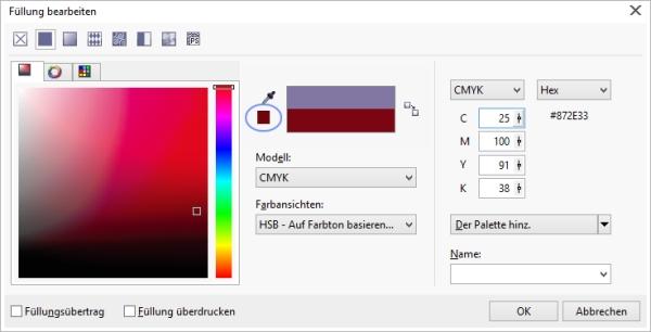 farbe in hex umrechnen