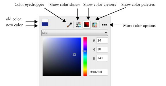 Various Tools Are Available To Help You Change The Desktop Or Window Border Color