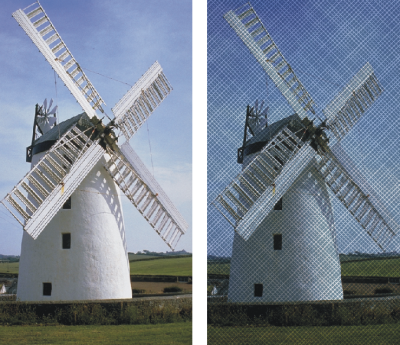 corel painter help applying the color overlay effect