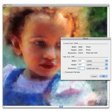Resizing Images and the Canvas